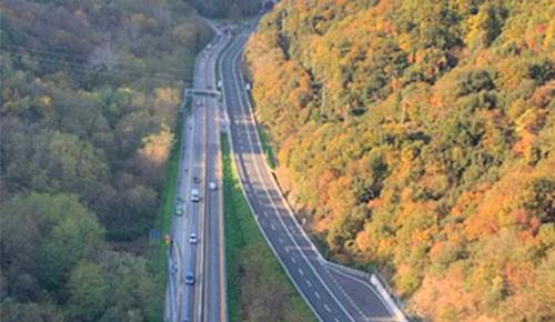 Piano di viabilità Viadotto Madonna del Monte, Autostrada A6