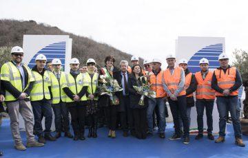 Savona, 21/02/2020 Cerimonia di inaugurazione del viadotto Madonna del Monte sulla A6 Torino-Savona